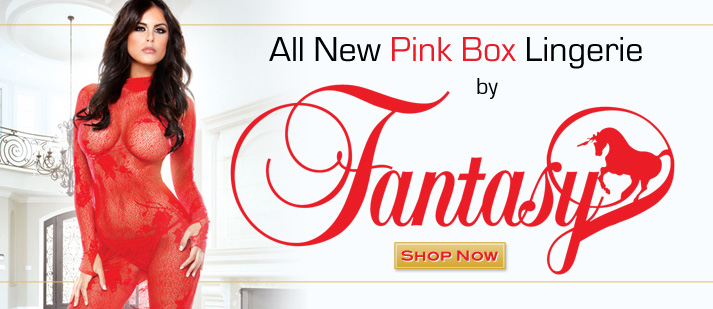 All New Pink Box Lingerie by Fantasy