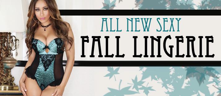 All New Fall Lingerie
