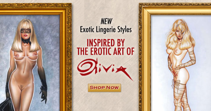 Lingerie Inspired by the Art of Olivia