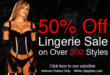 50%-70% Off Lingerie Sale