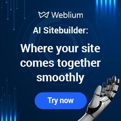 Weblium site
