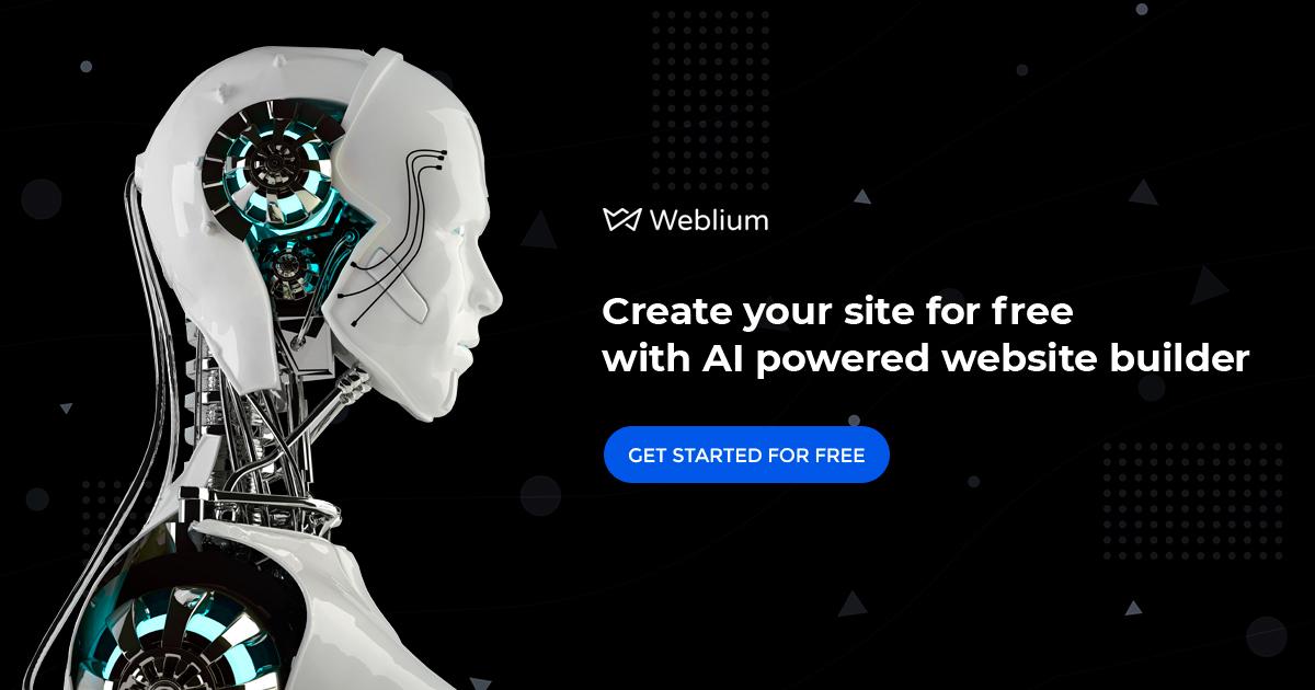 Weblium Banner
