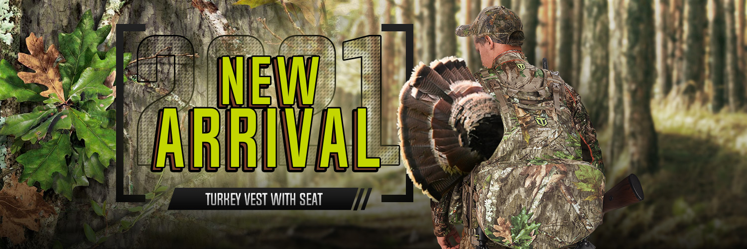 Tidewe Turkey Vest with Seat