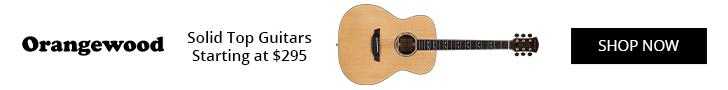 Shop Solid Top Guitars Starting at $295