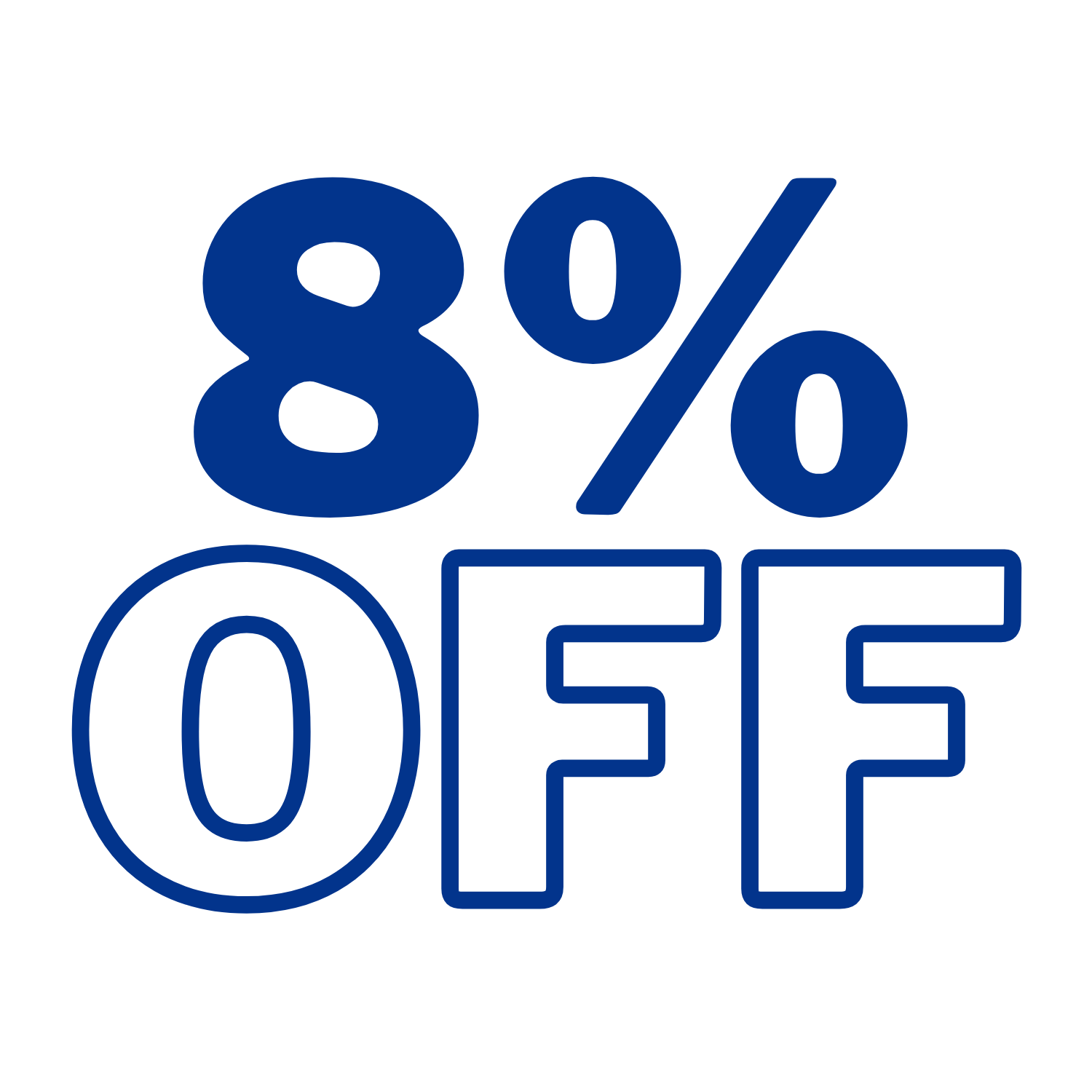 Discount code 8% Max 10$ for Personalized Categories