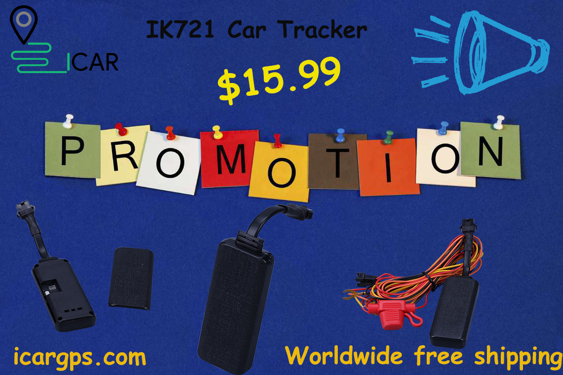 $15.99 IK721 Car Tracker free shipping worldwidely