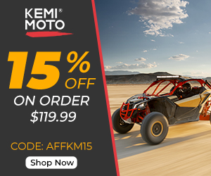 15% off on order $119.99 for Kemimoto with AFFKM15