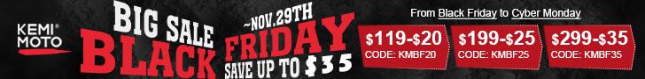 Save $20 Over $119 Code: KMBF20; Save $25 Over $199 Code: KMBF25; Save $35 Over $299  Code: KMBF35