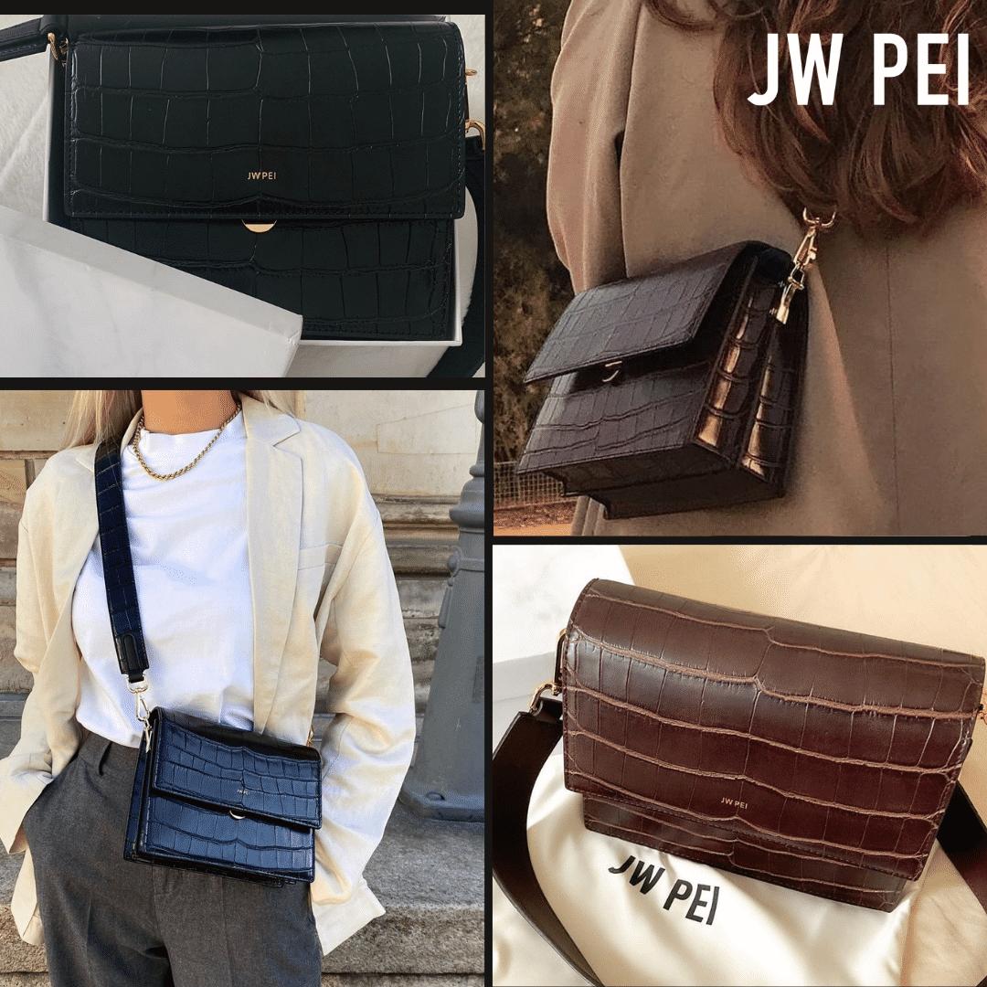 Several handbags from JW PEI.