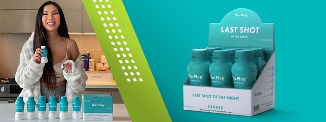 The Plug Drink Banner- all natural herbal plant