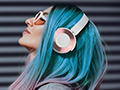 Wireless Headphones Extended Battery Stereo Headset Build In Microphone Bluetooth AUX Metallic Design