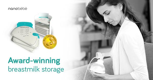 Award Winning Breastmilk Storage