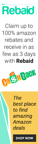 Claim up to 100% Amazon rebates & receive in as few as 3 days with Rebaid.