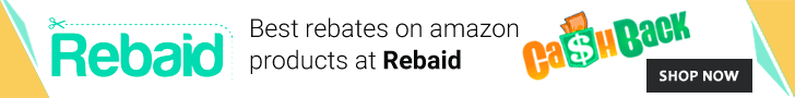 Best rebates on Amazon products at Rebaid.