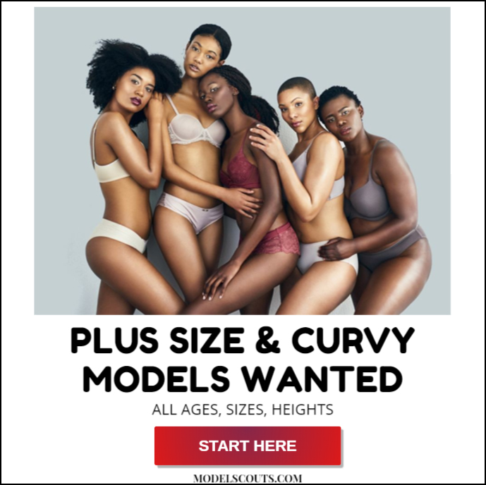 Plus Size Curvy Models Wanted