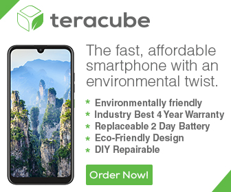 Teracube - The fast affordable smartphone with an environmental twist.