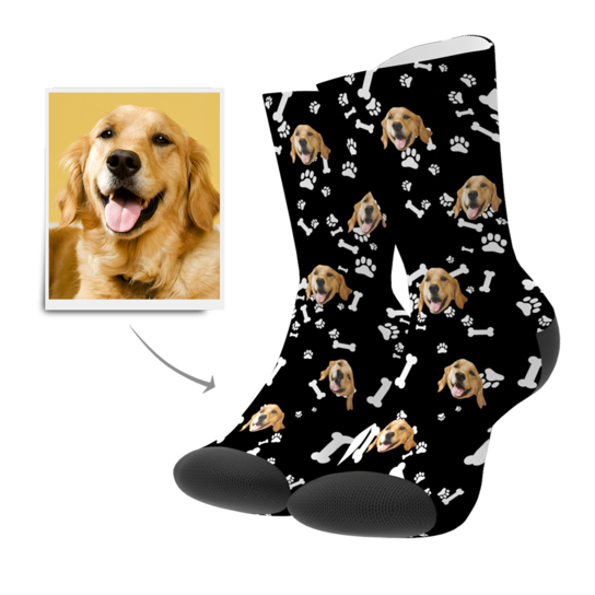 Custom Photo Socks With Your Lovly Pet