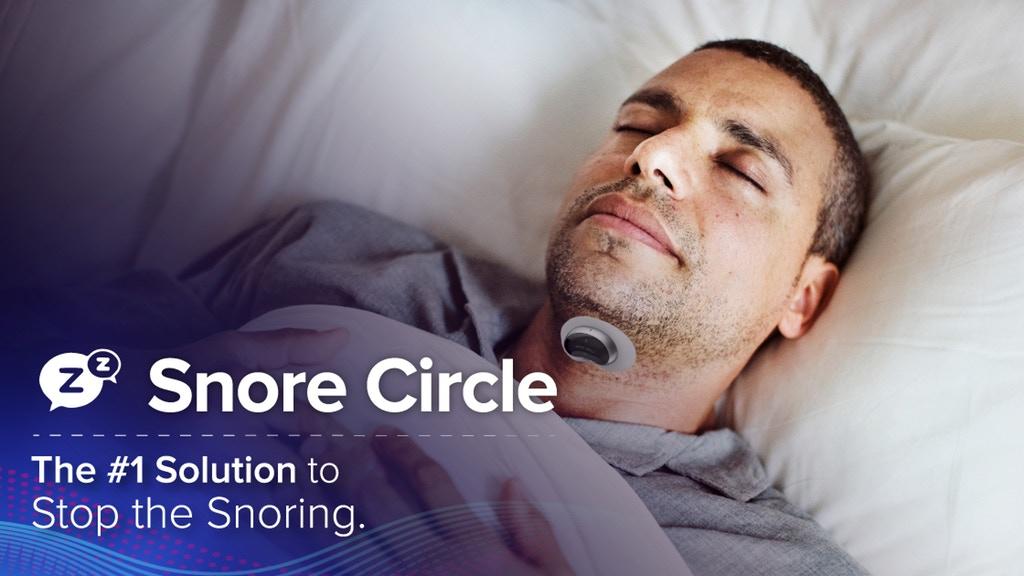 Smart Anti-snoring Device Muscle Stimulator