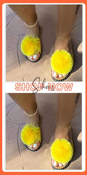 42% Off Yellow Out Door Slippers