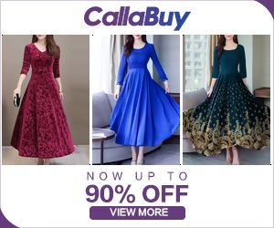Shop Elegant Dresses up to 90% Off from Callabuy.com