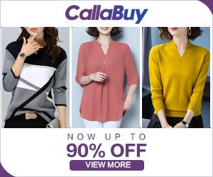 Cute tops up to 90% off at callabuy.com