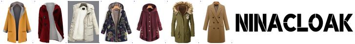 Shop chic coats from ninacloak.com