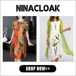 Shop Fashion Dresses at Ninacloak.com.