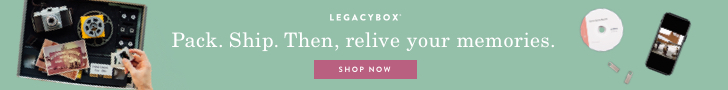 green box with Legacy box text