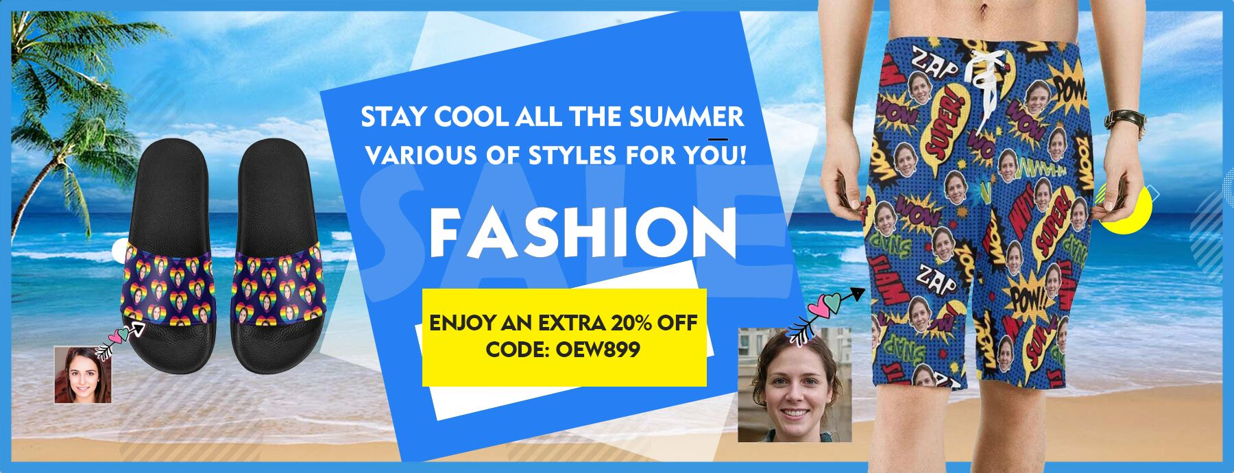 PERSONALIZED SUMMER WEAR | STAY COOL ALL SUMMER
