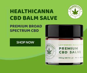 HealthiCanna CBD Balm