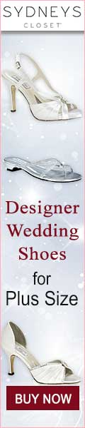 Designer Wedding Shoes for Plus Size
