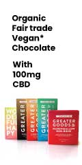 cbd chocolate vegan organic 100mg dark chocolate edibles