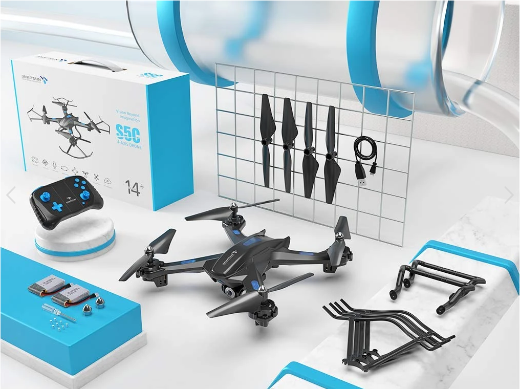 High performance quad copter