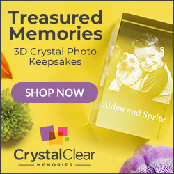 3D Crystal Photo Keepsakes