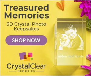 3D Crystal Photo Keepsakes