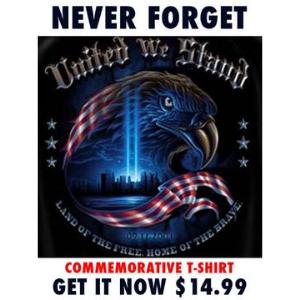 Commemorative 9/11 T-Shirt