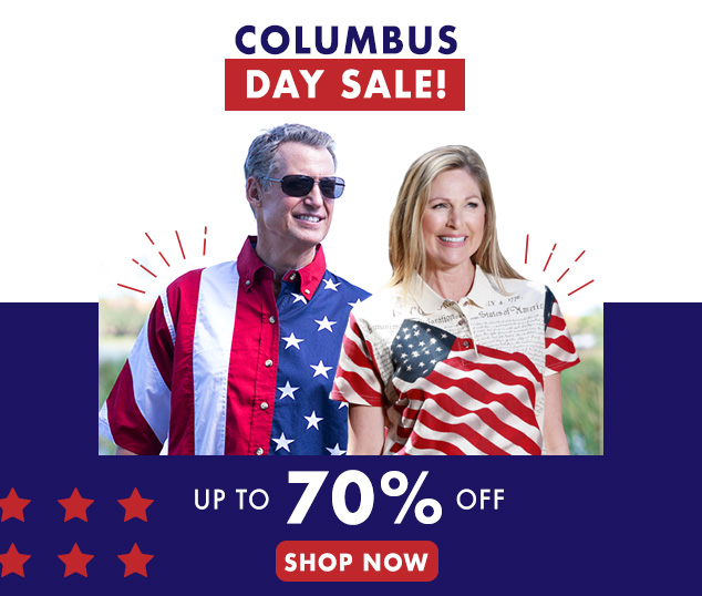 Save Up To 70% For Columbus Day!