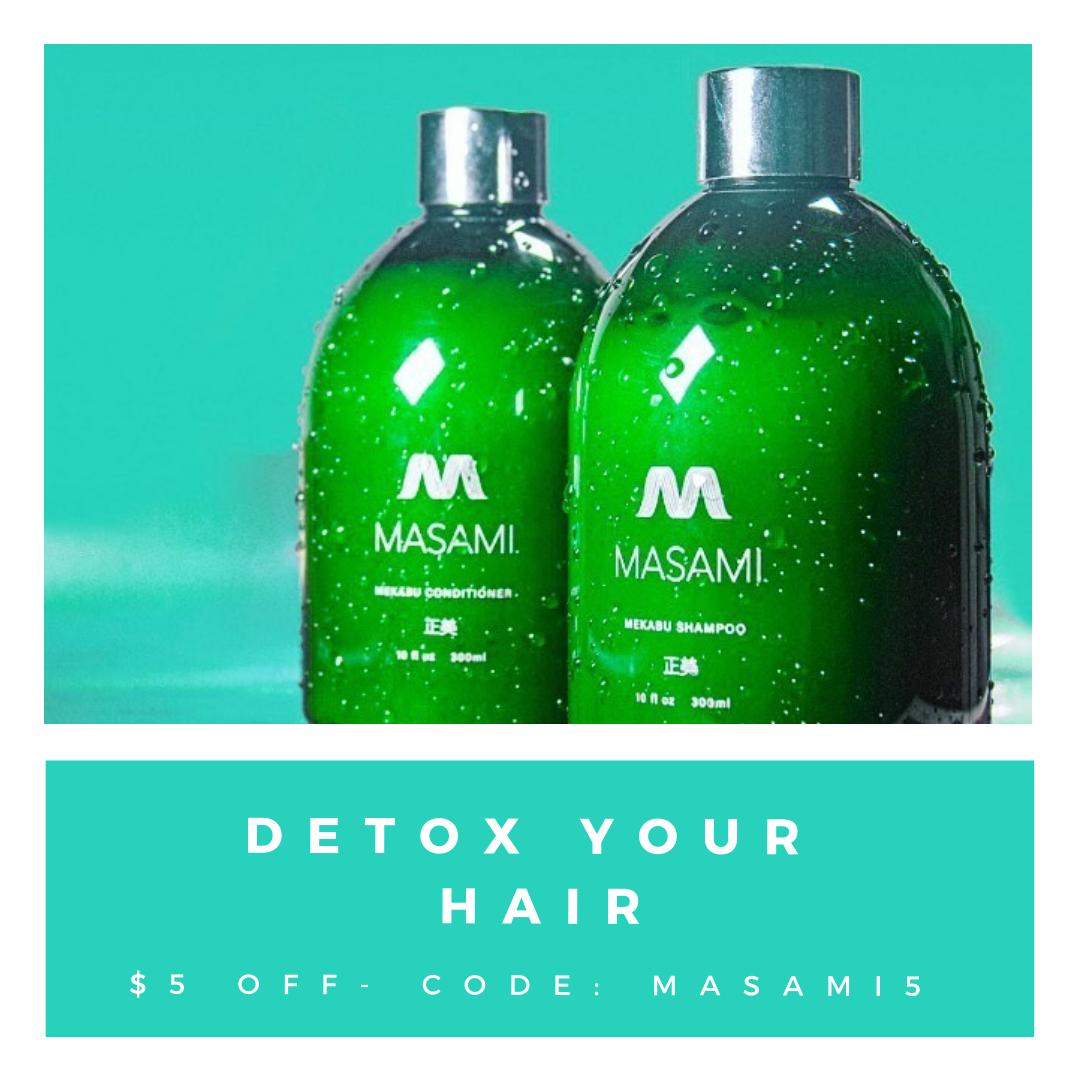 MASAMI Hair Care Detox Your Hair