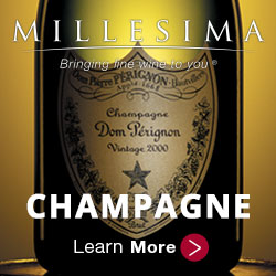 Champagne from Millesima