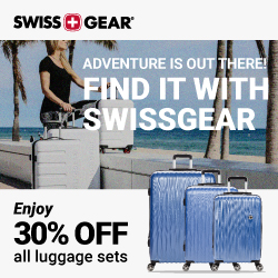Get 30% Off SWISSGEAR Luggage Sets