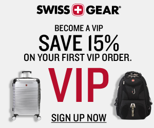 Get 15% Off SWISSGEAR Luggage & Backpacks