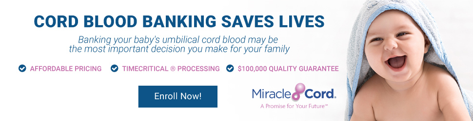 Cord Blood Banking with MiracleCord