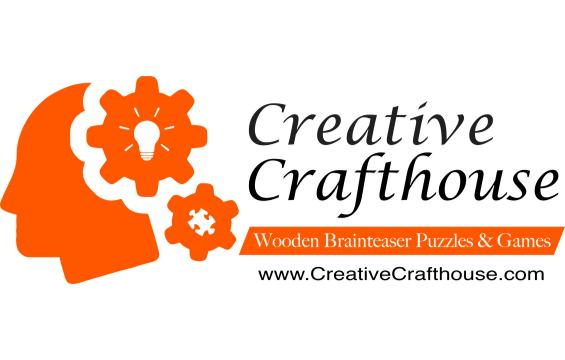 Creative Crafthouse Wood Puzzles and Games