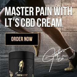 Lawrence Taylor - CBD Oil & Pain Relief Cream Bundle - 45% OFF