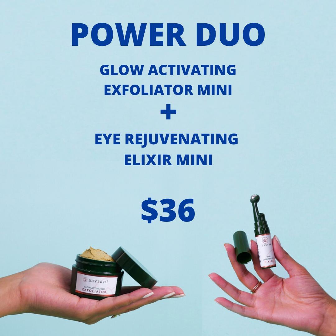 Glow Activating Exfoliator & Eye Rejuvenating Elixir