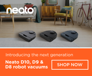 Neato D10, D9 and D8 robot vacuums