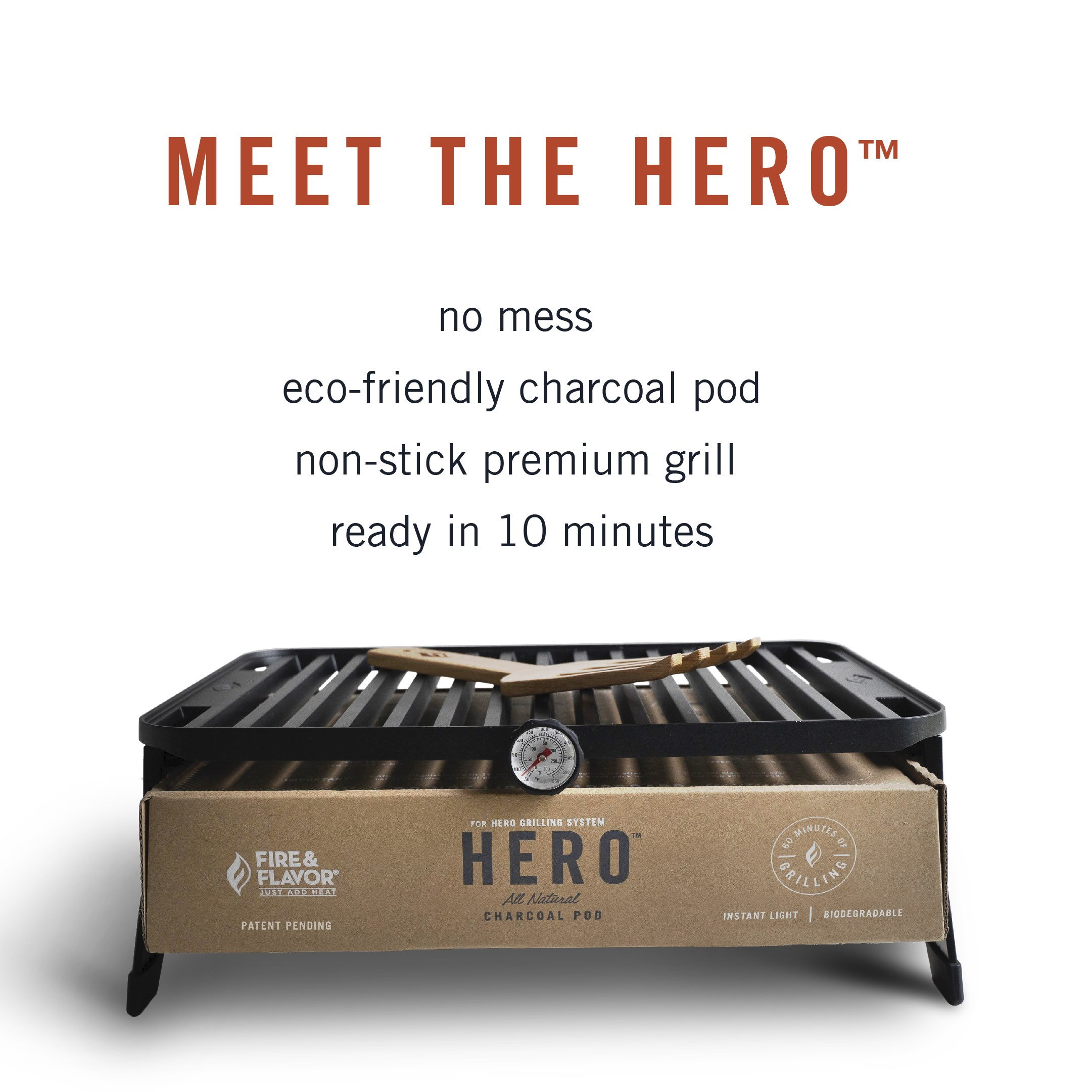 HERO Charcoal Grill