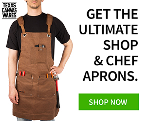 Get 10% Off The Ultimate Shop/Chef Aprons