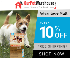 Advantage Multi Dogs: An Effective Flea & Heartworm Prevention at 10% Extra Discount + Free Shipping