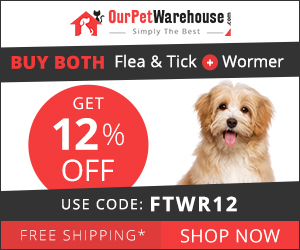 Add Any Flea/Tick + Wormer product in your cart to avail 12% Extra Discount + Free Shipping